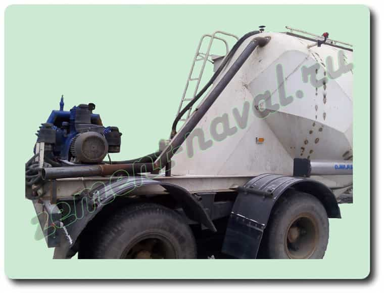 Модернизация цементовозной бочки