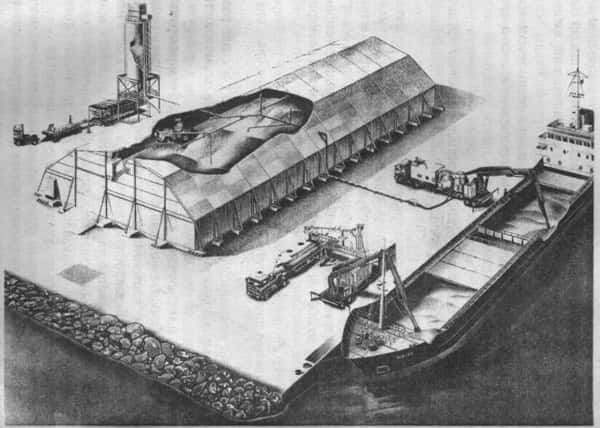 Комплекс для разгрузки судов фирмы Fuller Kovako