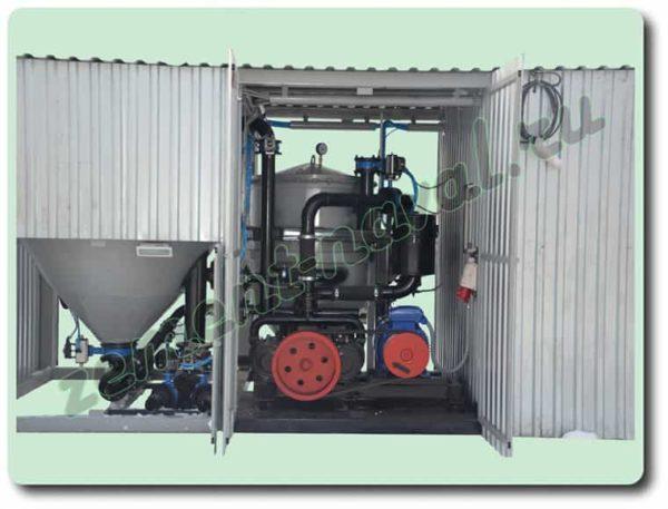 Станция перекачки сыпучих грузов однокамерная АПМ-30
