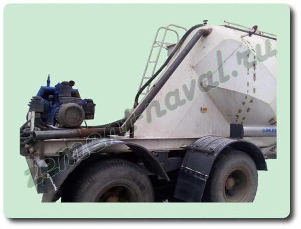 Модернизация цементовозных бочек