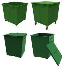 Контейнер для мусора КМ-0,75
