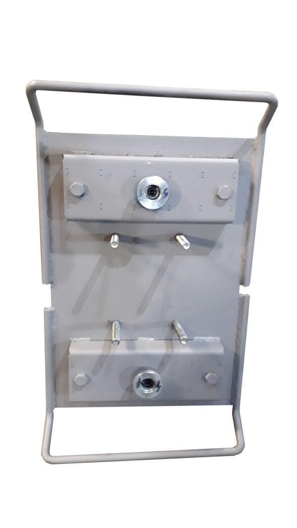 Плита для вибровстряхивателя на магнитных боксах ПЛ-М-01.15